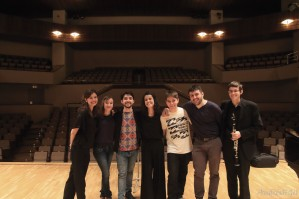 Ensemble XX/XXI (JORCAM) y su director, Jordi Francés Sanjuán. Fuente: Andrés H Gil