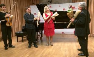 Homenaje a Miguel Bustamante con Mariana Gurkova y Alejandro Bustamante